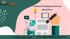#ContentWritingServices #WebsiteContentWritingServices Digital Hub Solution offer content writing services for your website in affordable price, if you don't have time or interest in spending time on writing the content for your business website. We have expert, they can understand your content according business needs. Article Writing, In Writing, Creative Writing, Professional Writing, Technical Writing, Business Writing, Business Requirements, Simple Words, Free Quotes