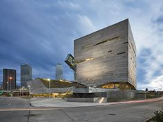 The architecture alone is worth the trip. We are in love!! Perot Museum of Nature and Science    Dallas, TX