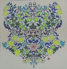 #johannabasford Joanna Basford, Johanna Basford Secret Garden, Color Pencil Art, Prismacolor, Neon Colors, Colored Pencils, Beautiful, Colored Pencil Artwork, Gardens