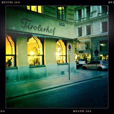 Café Tirolerhof, Führichgasse 8, 1010 Wien. Foto: Moka Consorten