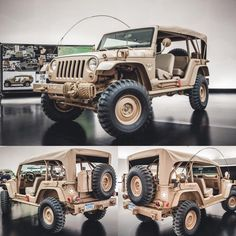 Jeep Staff Car Concept | Car and Driver. #jeep #concept #offroad #design #megadeluxe