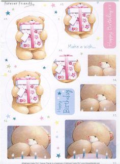 Cute Teddy Bear Pics, Teddy Bear Pictures, Birthday Photos, Birthday Cards, Friend Birthday, Happy Birthday, Friend Cartoon, Bear Card, Hallmark Cards