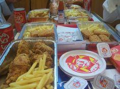 Al Baik... the beeeeeest garlic sauce and shrimps and chicken!!!