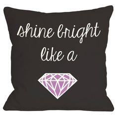 Shine Bright Pillow.