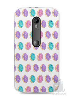 Capa Moto G3 Donuts - SmartCases - Acessórios para celulares e tablets :)