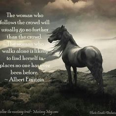 Great minds do not always think alike. Great minds think for themselves. Inspirational Horse Quotes, Horse Riding Quotes, Equestrian Quotes, Equestrian Problems, Between Two Worlds, Country Girl Quotes, Southern Quotes, Einstein Quotes, Albert Einstein