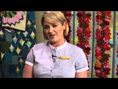 Hand Quilting With Perle Cotton with Sarah Fielke, Quilting Instructor for Craftsy.com - YouTube