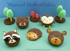 Lindsay Ann Bakes: Whimsical Woodland Animal Cookies