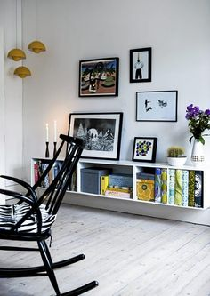I think I want a a shelf/bookcase like this in the boys' room. Ikea has this cheap?