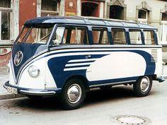 Volkswagen T1 Deluxe Samba Bus '1955–58