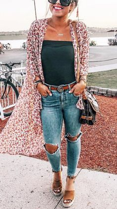 Mode outfits Stunning Casual Fall Outfit with Sneakers - Kee Casual Fall Outfits, Cute Summer Outfits, Pretty Outfits, Casual Shopping Outfit, Casual Sunday Outfit, Casual Jeans Outfit Summer, Casual Wear Women, Casual Summer Outfits For Women, Blazer Outfits