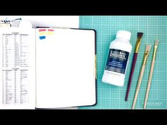 Prepping Bible Pages with Gesso before a Bible Journaling Entry: What is it, When to use it, and How - YouTube