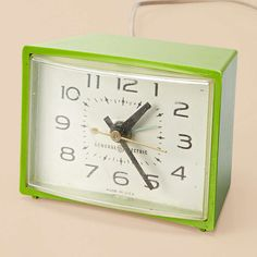 Vintage Green Clock  $ 60