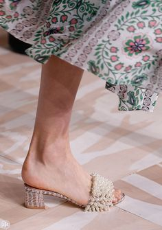 Learn all about the shoes of the season, straight from the runway.