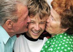 Grandparents with grandson