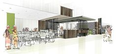 cafeteria design - Google Search