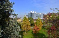 Giardini via Rogoredo e palazzo Sky
