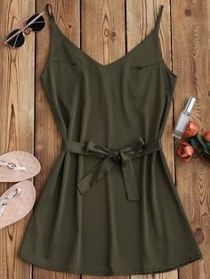 GET $50 NOW   Join Zaful: Get YOUR $50 NOW!http://m.zaful.com/satin-cami-slip-dress-with-choker-strap-p_274949.html?seid=3983975zf274949