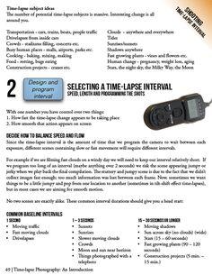Time lapse tutorials | Photography Tutorials & Info | Pinterest ...