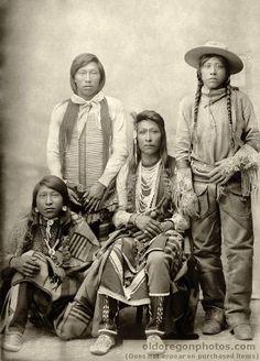 Northern Shoshone & Bannock Men 1895 | Native America