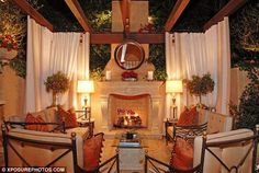 Kim Kardashian's Home – Beverly Hills | Celebrity Homes | Celebrity Houses | CelebHomes.net