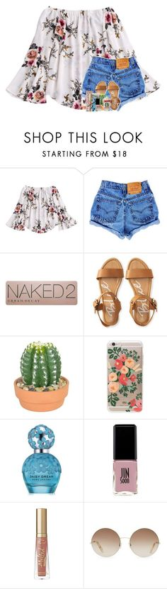 """""""i got way to much on my mental"""" by theblonde07 ❤ liked on Polyvore featuring Urban Decay, Aéropostale, The French Bee, Rifle Paper Co, Marc Jacobs, Jin Soon, Too Faced Cosmetics, Victoria Beckham and NYX"""