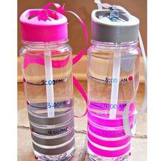 Ten siempre a la mano una botella de agua, muchas veces lo que crees que es hambre o antojo es realmente sed, si además quieres hacer seguimiento al total de líquido que consumes al día, puedes marcar los tiempos divididos en la cantidad de agua que debe ser tomada así como muestra la imagen #BellezaSaludable #DraPilarOchoa