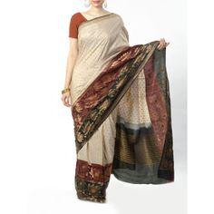 Buy Indian Handmade Tussar Silk Fabrics