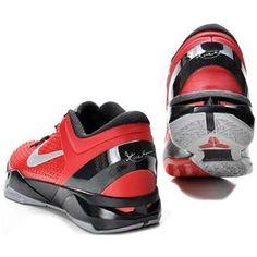 new arrivals d2ab5 97500 www.asneakers4u.com Nike Zoom Kobe 7 Elite Shoes Red Black Gray