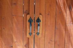 M&M Builders - Fence and Gate Details Gate Handles, Backyard, Patio, Fence Gate, Trellis, House, Home, Backyards, Homes
