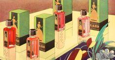 Glazo Nail Polish Ad - detail, 1930