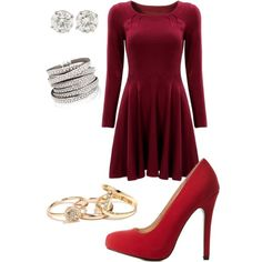 A fashion look from March 2015 featuring Charlotte Russe pumps. Browse and shop related looks.