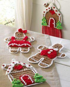Maggie's Crochet · Gingerbread Kitchen Set Crochet Pattern