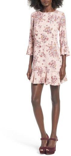 Women's Leith Ruffle Hem Shift Dress   https://api.shopstyle.com/action/apiVisitRetailer?id=608011388&pid=uid2500-37484350-28