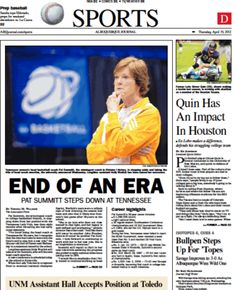 Pat Summit Steps Down At Tennessee - 4/19/2012