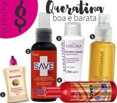 Top 5 Queratina Boa e Barata: #Pechincha!