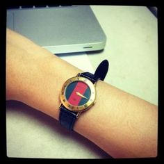Currently very into vintage gucci watches