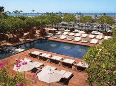 After a long day hiking and hunting for edible mushrooms in Hawai'i, my husband and I would just LOVELOVE to unwind and relax at the Sunrise Pool at The Modern Honolulu in #Waikiki