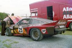 The Allan Moffat Chevrolet Monza next to the transporter in the paddock Aussie Muscle Cars, American Muscle Cars, Chevrolet Monza, Life Car, Old Race Cars, Sports Sedan, Vintage Race Car, Cool Cars, Chevy