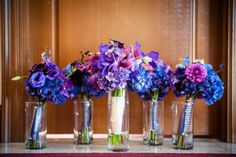 Beautiful Blues, would need some Delphinium and Belladonna in the wedding.