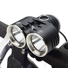 Bike Headlamp ThorFire BL02 Bike Headlight CREE XM-L2 LED Rechargeable Bicycle Light 3 Modes Comes with Free Taillight and 8800mAh Battery Pack for Cycling Jogging Camping Hiking  #8800mAh #Battery #Bicycle #Bike #BL02 #Camping #Comes #CREE #Cycling #FREE #Headlamp #Headlight #Hiking #Jogging #Light #Modes #Pack #Rechargeable #TAILLIGHT #ThorFire #XML2 CyclingDuds.com