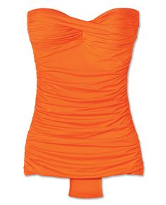 The 20 Most Flattering One-Piece Swimsuits - Carmen Marc Valvo from #InStyle