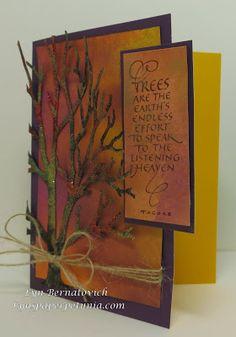 Lyn's Paper Petunia: Dreamweaver Stencils & Quietfire Collaboration - Final Hop Day!