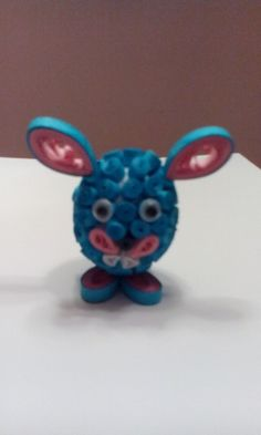 Easter quilled bunny