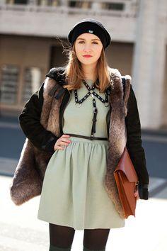 Allegra Zerz. <3 the minty green dress