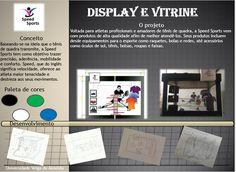 Projeto de display e vitrine para a matéria de Design Promocional/ Veiga de Almeida.
