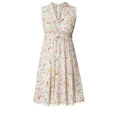 fresh & colourful - Orla Kiely SS13 Silk Crepe Riviera Print Sleeveless Dress