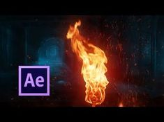 Realistic Fire Simulation - After Effects Tutorial - No Plugins Adobe After Effects Tutorials, Effects Photoshop, Video Effects, Vfx Tutorial, Animation Tutorial, Photoshop Tutorial, Blender 3d, Motion Design, Cover Design