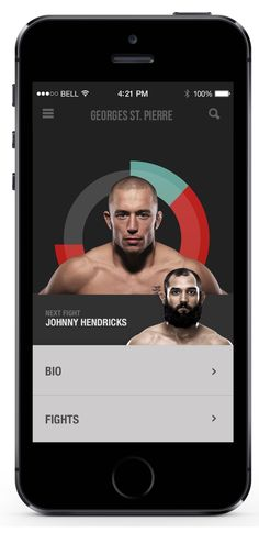 UFC New Visual Concept by JP Teixeira