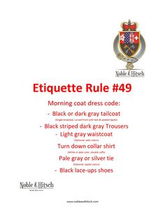 Etiquette is not only for Kings and Queens!⠀ Practical Tips on Etiquette from the Butler in Hong Kong. #NobleAndHitsch #EveryDayEtiquette #Etiquette #ButlerHongKong #HK #HKig #ButlerForHire #LuxuryLifeStyle #HKButler #manners #goodmanners #lovemylife #gentleman #lady #dresscode #morningcoat #formal